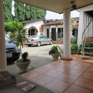"""Hotel"" courtyard"